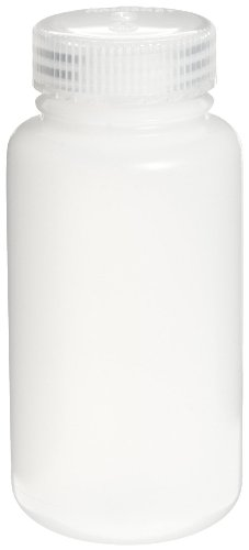 Nalgene 3121-0250 HDPE 250mL Wide-Mouth Centrifuge Bottle with Polypropylene Screw Closure (Pack of 6)