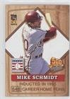 Mike Schmidt (Baseball Card) 2001 Topps Post 500 Home Run Club - Food Issue [Base] #7