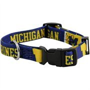 Michigan Wolverines X-Small Adjustable Dog/Cat Collar (X-Small)