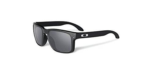 Oakley Men's Holbrook Sunglass, Polished Black/Black Iridium - Black Oakley Holbrook