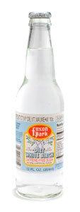 Foxon Park, Diet White Birch Soda, 12 oz. Bottle (Case of 12) made in Connecticut
