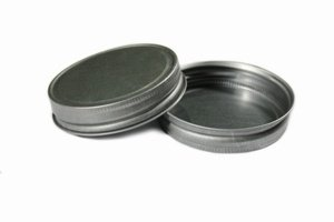 Pewter Lid for Mason Jar 70-Twist (PK of 12) (Pewter Lid)