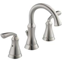 Delta Mandara 2-Handle 8 In. Wideset Stainless Lavatory Faucet