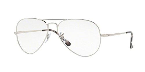 Ray-Ban RX6489 Eyeglasses Silver - Glasses Ban Silver Ray