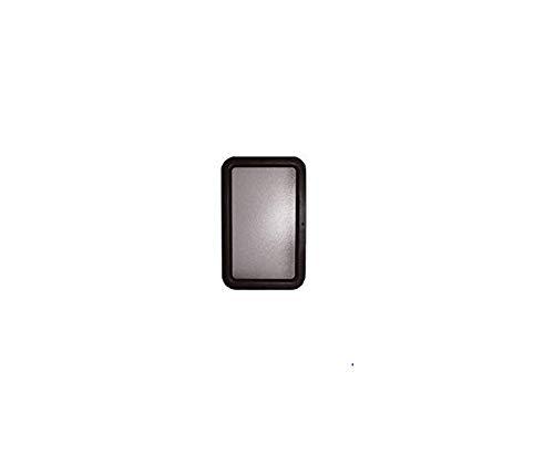 Valterra A77051 69846 12' x 21' RV Door Glass with Black Frame