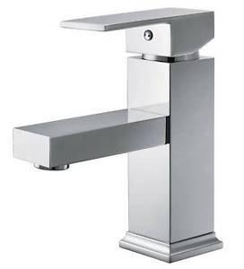 takestop miscelatore cubico quadrato squadrato per vasca senza set doccia bagno lavabo lavandino monoforo monocomando