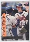 Atlanta Braves (Baseball Card) 1995 Topps Stadium Club - [Base] - Super Teams World Series #1