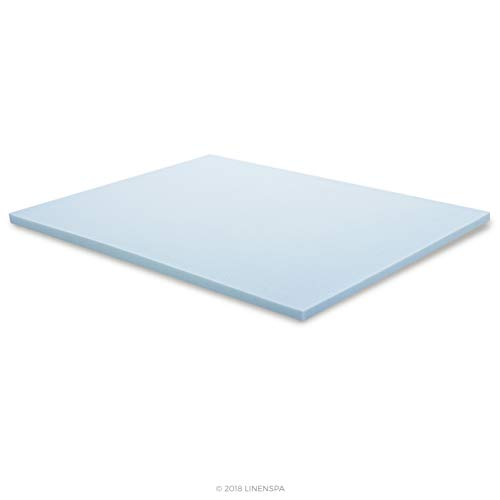 Linenspa 2 Inch Gel Infused recollection Mattress Toppers