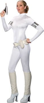 [Padme Amidala Costume - X-Small - Dress Size] (Padme Amidala Halloween Costumes)