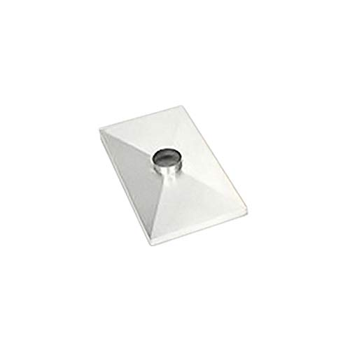 Gelco 1 Hole Stainless Steel Chase Cover - 34