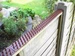 Cat Repeller Fence and Wall Spikes - Strip of 8