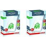 Miele AirClean 3D Efficiency Dust Bag, Type U, 8 Bags & 4 filters