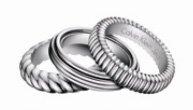CK Calvin Klein Jewelry Waves Ring 18.15 mm KJ17AR010108
