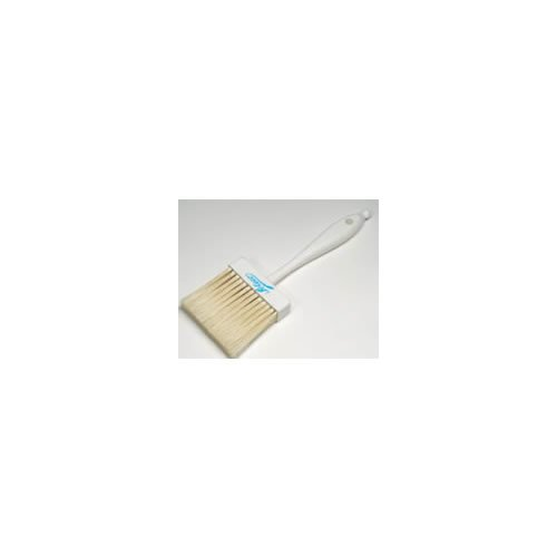 Ateco 1672 Pastry Brush, 2-Inch Wide Head with Natural White Boar Bristles & Molded Plastic Handle