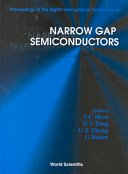 Narrow-Gap Semiconductors and Related Materials, Proceedings of the INT  Conference on Narrow-Gap Semiconductors and Related Materials, NIST, Gaithersburg, June 12-15, 1989