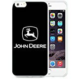 Iphone 7 Plus TPU Case,John Deere Logo 2 White Shell Case for Iphone 7S Plus 5.5 Inches