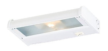 (CSL Lighting NCAX-120-8BZ Counter Attack 8IN Undercabinet Fixture, Bronze Finish with Prismatic Glass Diffuser)