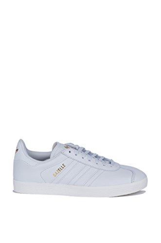 Adidas Women's Gazelle Originals White/White/Gold Metallic Sneaker (Large Image)