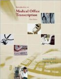 Introduction to Medical Office Transcription Package w/ Audio Transcription CD 3rd Edition by Becklin, Karonne, Sunnarborg, Edith [Spiral-bound]