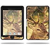 MightySkins Skin Compatible with Lifeproof Apple iPad Mini 4 Case nuud Case wrap Cover Sticker Skins Deer Camo