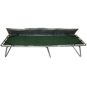 GigaTent Folding Comfort Camping Cot with Mattress, X-Large, Outdoor Stuffs
