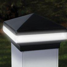 Deckorator Light Band Versacap 4x4 LED Post Cap 12V - (Low Voltage Post Cap Lights)