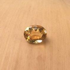 sunela石元Certified Natural Citrine Gemstone 9.9 Carat By gemselect B077P1TL3Q