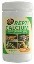 Reptile Calcium with D3 [Set of 2] Size: 3 Oz.