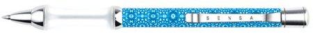 Sensa Mosaic Azul Ballpoint Pen Takes parker Gel Refill 76297