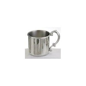 Empire Pewter Plain Baby Cup (Plain Handle Baby Cup)