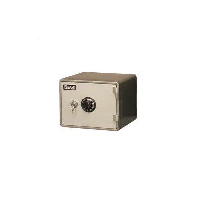 Horizontal One-Hour Fire Resistant Microwave Safe Lock Type: Combination And Key Lock, Size: Large