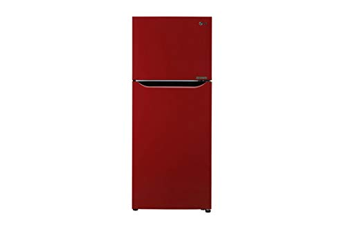 LG 260 L 3 Star Inverter Frost Free Double Door Refrigerator  N292KPRR, Peppy Red
