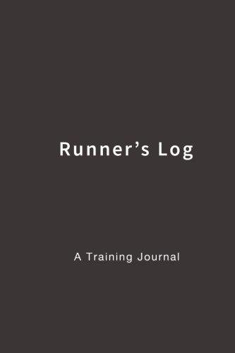 Runner's Log: A Training Journal (Black)