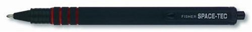 Fisher Space Pen ST Space-Tec Pen with Black Ink, Medium Point, Black Rubber (All Weather Pen)