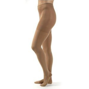 Relief Therapeutic Support Waist-High Stockings Medium, Beige [Each-1 (single)]