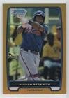 William Beckwith #5/50 (Baseball Comedian) 2012 Bowman - Chrome Prospects - Gold Refractor #BCP154