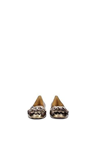 Mocasines Prada Mujer - (1F403FORO) EU Oro