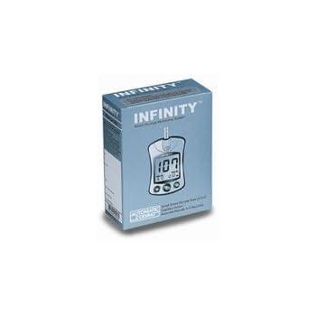 Amazon Com Infinity Blood Glucose Meter Kit Health