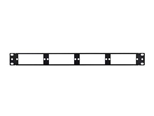 Monoprice Blank Fiber Patch Panel - 19 Inch | 4Lgx Cassettes, 1U