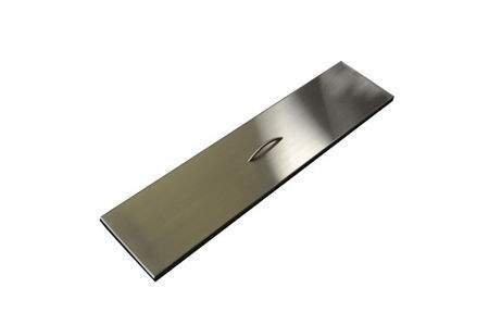 Hearth Products Controls (HPC) Rectangular Stainless Steel Fire Pit Cover (TPHC-24SS), 28x9.5 Inch