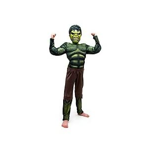 Big Boys' Child Avengers Hulk Muscle Costume - 21dXkYn8 3L - Avengers Hulk Classic Muscle Costume