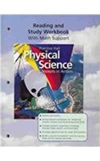 Printables Prentice Hall Physical Science Concepts In Action Worksheets prentice hall physical science concepts in action with earth and high school reading study workbook 2006c