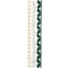 Sticko & Jolee's Boutique Parcel Dimensional Stickers: Vintage Daisy (Jolees Parcel Border Stickers)