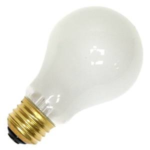 Ge 75w Rough (GE Lighting 72530 75 Watt 130 Volts A19 Rough Service Light Bulb)