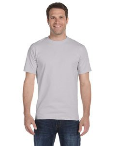 Gildan mens DryBlend 5.6 oz. 50/50 T-Shirt(G800)-SPORT GREY-2XL