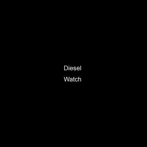 (Diesel White Dial Stainless Steel Leather Quartz Men's Watch DZ4238)