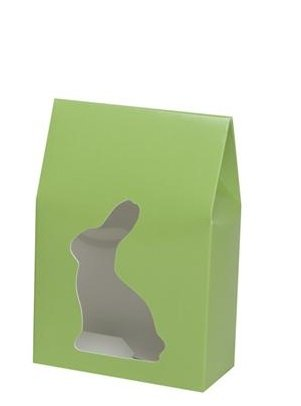 Easter Egg Box, SMALL SIZE - 10 EACH --Bright Green Easter B