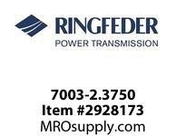 Ringfeder 7003-2.3750 2-3/8^ ECOLOC 7003-IN Locking assembly