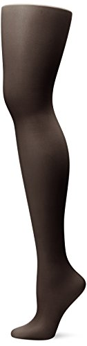 L'eggs Women's Sheer Energy Toe Pantyhose, Jet Black, B, 1-Pack ()