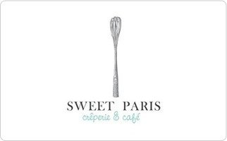 Sweet Paris Creperie & Cafe Gift Card ($15)